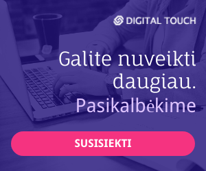Digital touch - skaitmeninė B2B rinkodaros strategija