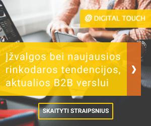 Digital touch - straipsniai, įžvalgos B2B rinkodaros temomis